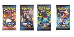 Shining Fates Booster Art Set 4 PAcks