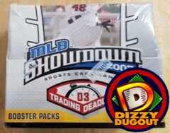 MLB Showdown 2003 Trading Deadline Sealed Booster Box (36 Packs)