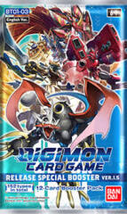 Digimon Card Game: BT01-03 Release Special Version 1.5 Booster Pack