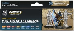 Wizkids Premium Paints: How to Paint Masters of the Arcane
