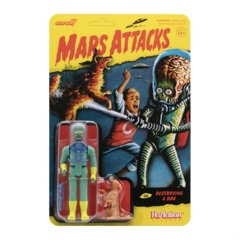 Mars Attacks ReAction Figure - Destroying A Dog