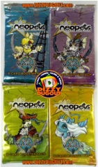 Neopets Curse of Maraqua Booster Pack Art Set