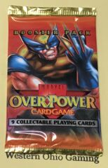 Marvel OverPower Base Set Booster Pack