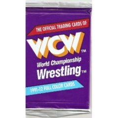 1991 WCW WORLD CHAMPIONSHIP WRESTLING TRADING CARD PACK ( IMPEL)