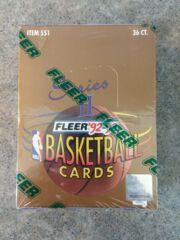 1992-93 Fleer Basketball Series 2 Factory Sealed Wax Box 36 Packs