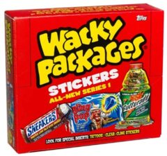 Wacky Packages Topps :  All-New Series 1 (2004) HOBBY Box