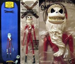 The Nightmare Before Christmas Santa Jack Skellington Marionette - 10th Anniversary Neca Marionette