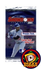 MLB Showdown 2001 Booster Pack 1st Edition