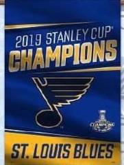 2019 Stanley Cup Champion - House Flag