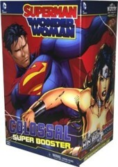 Superman and Wonder Woman Colossal Super Booster