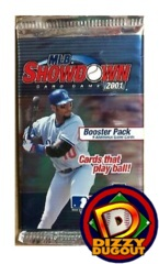 MLB Showdown 2001 Booster Pack Unlimited Edition