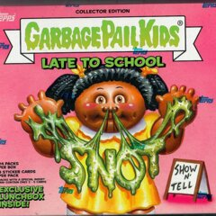 Garbage Pail Kids Topps : Late 2 School Collectors Edition HOBBY Box