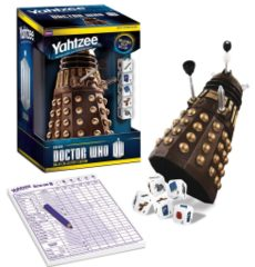 Doctor Who Yahtzee Dalek Edition