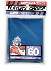 Player's Choice Yu-Gi-Oh! Sized Superior Quality Sleeves Metallic Blue (60 ct)