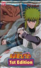 Naruto Collectible Card Game Approaching Wind Booster Pack 1st Edition