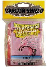 Dragon Shield Pink Protective Mini Card Sleeves (50 ct)