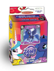 My Little Pony CCG: Canterlot Nights Princess Luna & Rainbowdash Theme Deck