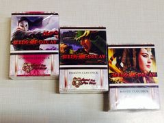 Seeds of Decay Theme Starter Clan set of 3 (1 ea. Dragon, Mantis & Scorpion)