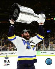 Patrick Maroon with the Stanley Cup - Top Loaded 8x10 Photo