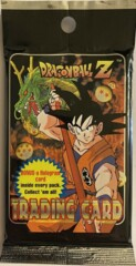 1996 Dragon Ball Z - Trading Cards - Series 1 - 10 Card Pack