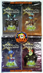 Neopets The Return of Sloth Booster Pack Art Set