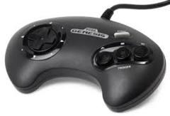 SEGA Genesis Mega Drive 3-Button Controllers