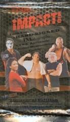 TNA 2008 IMPACT - INAUGURAL EDITION TRADING CARD PACK