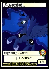Angel Token - Custom Tokens - My Little Pony: Nightmare Moon