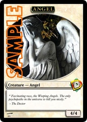 Angel Token – Custom: Doctor Who: The Weeping Angels B