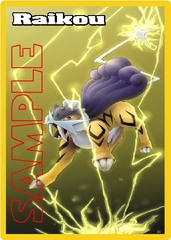 Custom Token – Pokemon: Raikou