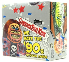 Garbage Pail Kids Topps : We Hate the 90's (2019) HOBBY Box