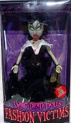 Mezco Toys Living Dead Dolls Fashion Victims Series 1 Lilith - BLOODY Version