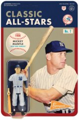 Mickey Mantle ReAction MLB Classic All-Stars Action Figure New York Yankees