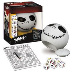 The Nightmare Before Christmas Yahtzee Jack Skellington Edition (Red Box)