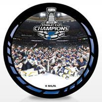 2019 ON ICE Stanley Cup Champs Puck (Blues)
