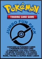Pokemon Trading Card Game Jumbo Fun Pack - 22  Card Repack!