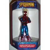 Marvel Comics Spider-Man Hand-Crafted Glass Holiday Ornament