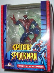 Marvel Comics Spider-Man Holiday Stocking Hanger by Kurt S. Adler