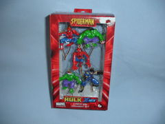 Marvel Comics SPIDER-MAN HULK X-MEN MINI HOLIDAY ORNAMENT 5 PIECE SET