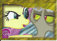 My Little Pony Friendship Magic Gold Foil Card (SERIES 2) DISCORD #G6