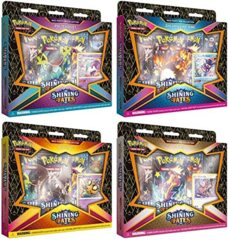 Shining Fates Mad Party Pin Collections - Set of 4