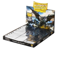 Dragon Shield: 18-Pocket Pages - Clear (50-Pack)