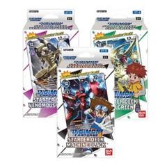 Digimon Card Game: ST-4-6 Starter Deck SET of 3