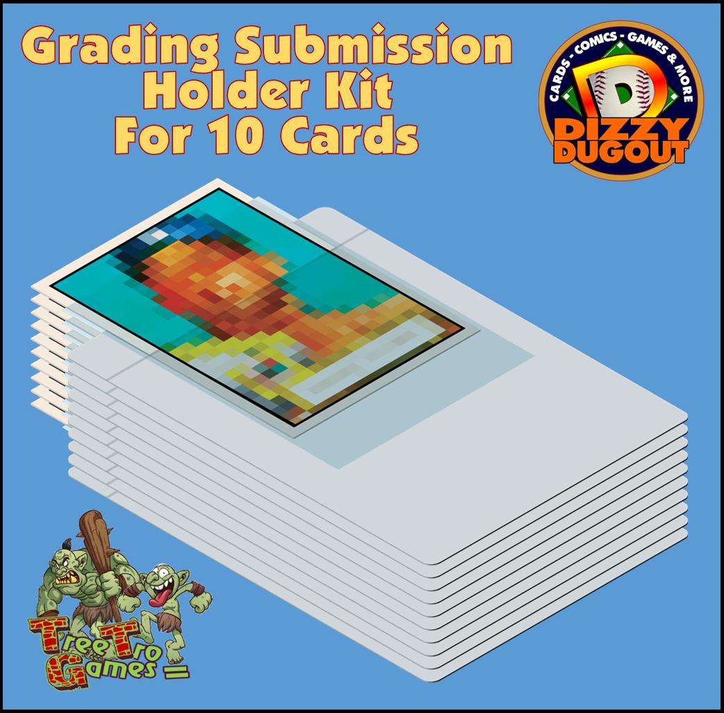 Grading Submision Premier Choice Semi Rigid Card Saver - 10 Card Kit
