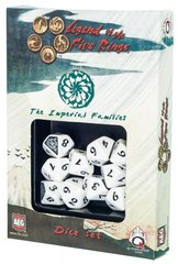 Legend of the Five Rings Imperial Families Dice Set Of 10 Dice (Q-Workshop)