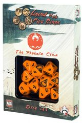 Legend of the Five Rings Phoenix Clan Dice Set Of 10 Dice (Q-Workshop)