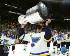 Robert Bortuzzo with the Stanley Cup - Top Loaded 8x10 Photo - aawk044