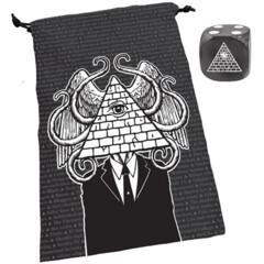 Steve Jackson Games - Dice Bag: Illuminati
