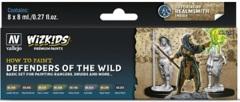 Wizkids Premium Paints: How To Paint- Defenders Of The Wild