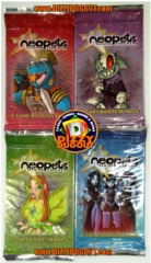 Neopets Base set Booster Pack Art Set